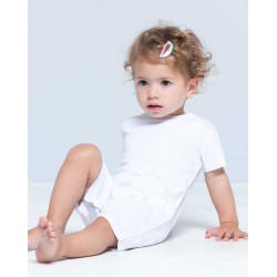 BABY BODY PLAYSUIT 100% coton. Poids: 170 g/m2