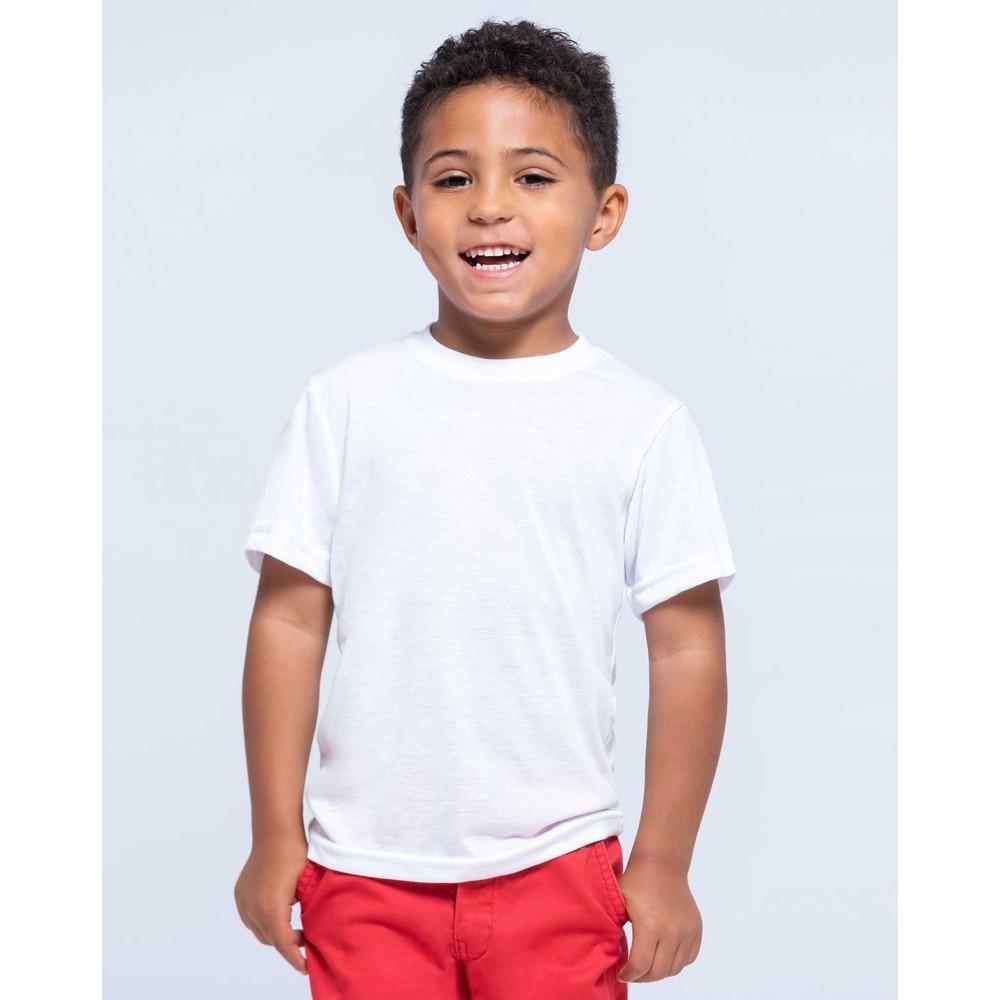 T-SHIRT ENFANT KID SUBLI 100% polyester. Poids: 150 g/m2