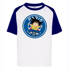T-shirt enfant bi color imprimé DTG - DBZ PARIS