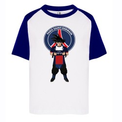 T-shirt enfant bi color imprimé DTG - DBZ PARIS modele 2
