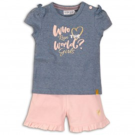 Set 2 piècs top + short - Dirkjebabywear