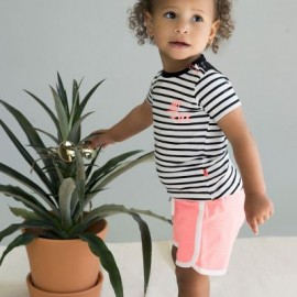 ensemble bébé - Baby t-shirt + shorts - Dirkje