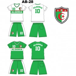 Ensemble équipe de football - Algerie