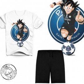 Ensemble garçon - Tee-shirt Dragon Ball Z PSG manga