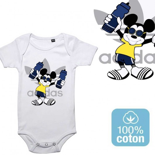 BODY BÉBÉ MIXTE - Mickey swagg
