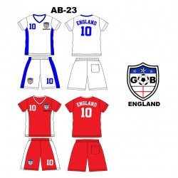 Ensemble équipe de football - England