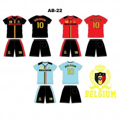 Ensemble équipe de football - Belgium AB-22