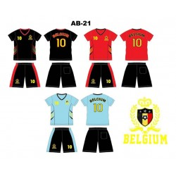 Ensemble équipe de football - Belgium AB-21