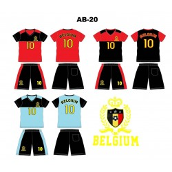 Ensemble équipe de football - Belgium AB-20