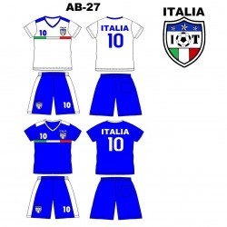 Ensemble équipe de football - Italia