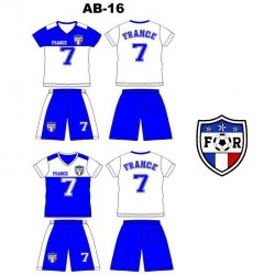 Ensemble équipe de football - France AB-16