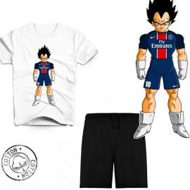 Ensemble garçon - Tee-shirt Dragon Ball Z PSG urban