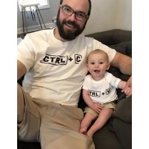 Regular - T-shirt pour homme manches courtes, 100% coton imprimé - CTRL-C