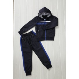 Patcho - Ensemble De Survetement unisex A capuche - Marine