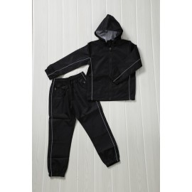 Lakika - Ensemble De Survetement unisex A capuche - noir