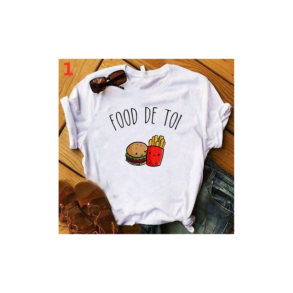 T-shirt filles, 100% coton imprimé - Parfaitement Imparfaite