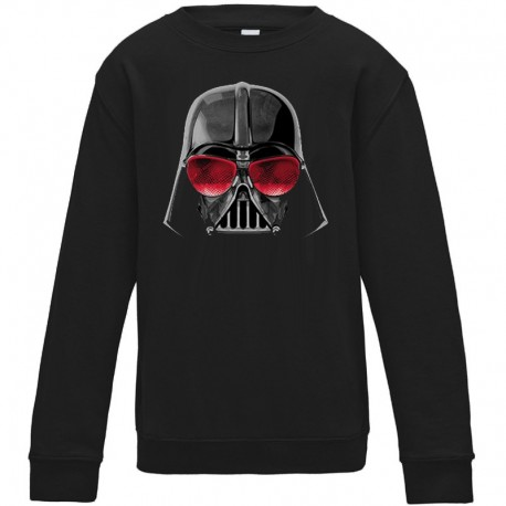 Sweat-shirt 80% coton imprimé dark vador