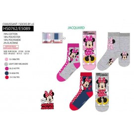 3 PACK 5 CHAUSSETTES - MINNIE - 15 PAIRES