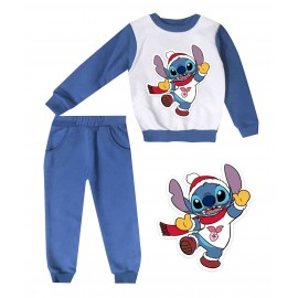 Jogging enfant sweat + pantalon 1-4 ans imprimé mode
