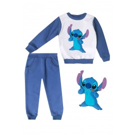 Jogging enfant sweat + pantalon 1-4 ans imprimé Stich