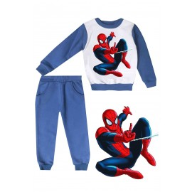 Jogging enfant sweat + pantalon 1-4 ans imprimé spieder