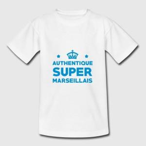 T-shirt enfant   -  Authentique super marseillais