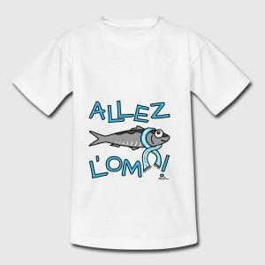 T-shirt enfant   -  Allez l'OM