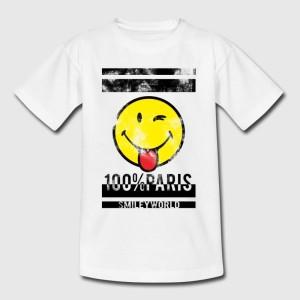T-shirt enfant   -  100% PARIS