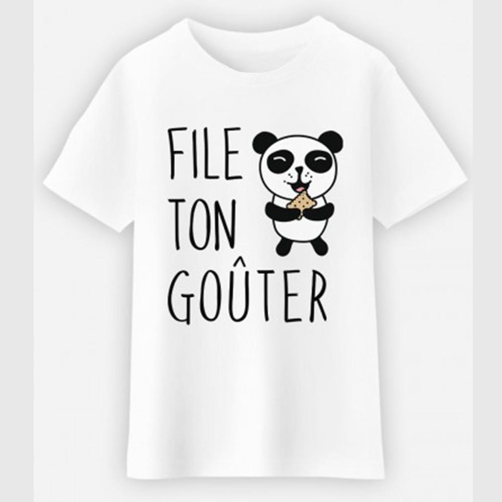 T-shirt enfant - FILE TON GOUTER