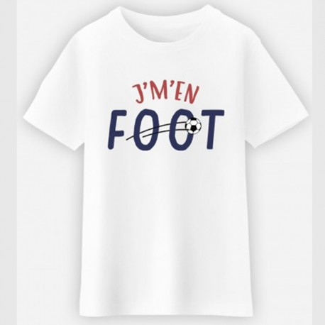 T-shirt enfant - J'M'EN FOOT