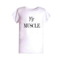 T-shirt enfant polyester sublimé Mr Muscle