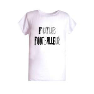 T-shirt enfant  polyester sublimé Futur footballer