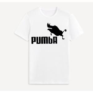 Tshirt enfant imprimé pumba - blanc