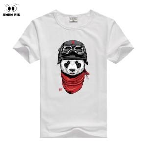 T-shirt enfant manche courte - PANDA MOTARD