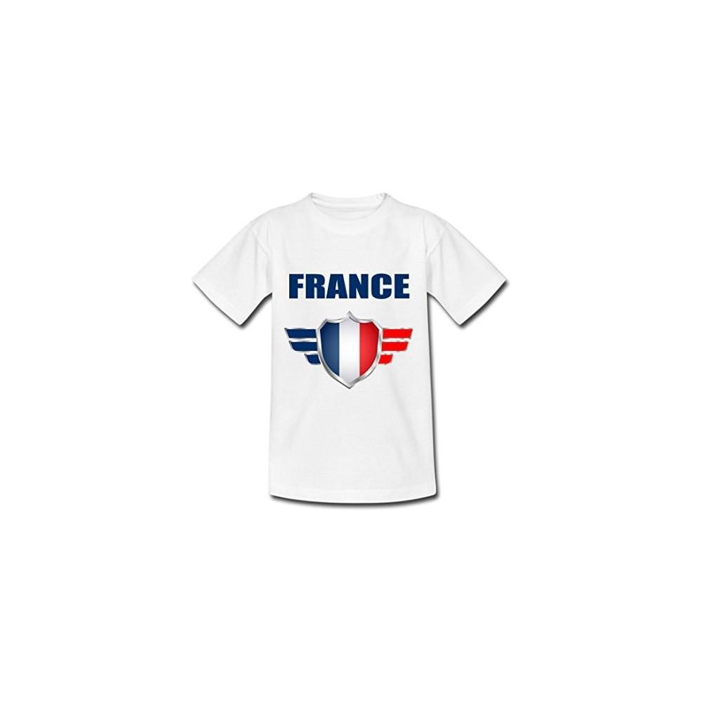 T-shirt enfant manche courte - Coupe du monde France