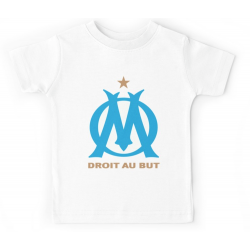 T-shirt enfant blanc - DROIT AU BUT