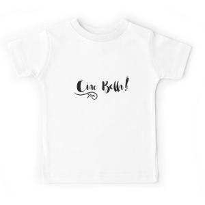 T-shirt enfant blanc - CIAO BELLA