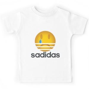 T-shirt enfant blanc - SADIDAS