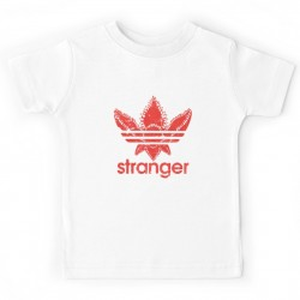 T-shirt enfant blanc - Stranger