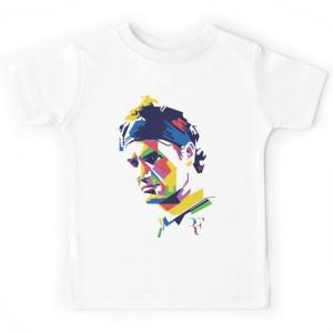 T-shirt enfant blanc - FEDERRER