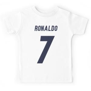 T-shirt enfant blanc - RONALDO 7