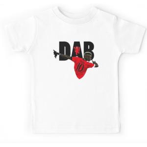 T-shirt enfant blanc - POGBA DAB