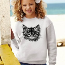 Sweatshirt enfant - CHAT