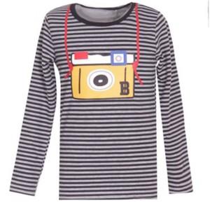 T-shirt ML pour garçon modèle ELYO