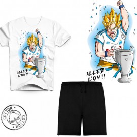 Ensemble garçon - Tee-shirt Dragon Ball Z OM manga