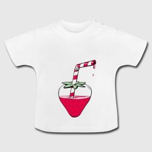 Tshirt bébé - Fraise
