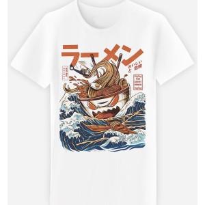 Adulte - T-shirt adulte coupe droite , Le grand Ramen