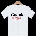 T-shirt garçon blanc manche courte - Gueule d'ange
