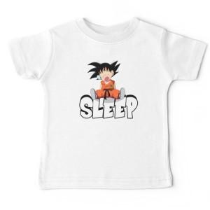 Tshirt bébé - DBZ SLEEP