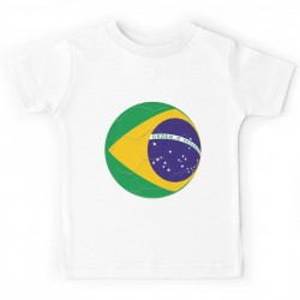 T-shirt enfant - BALLON BRESIL